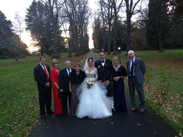 My Daughters Wedding in Scottland
