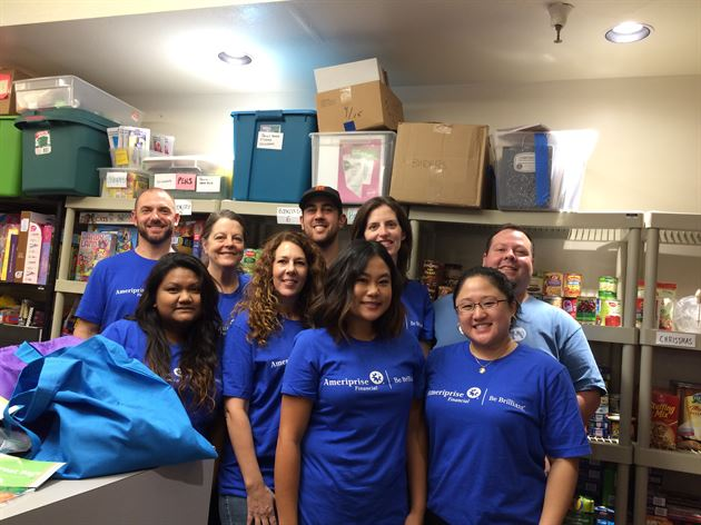 National Day of Service Event 2015