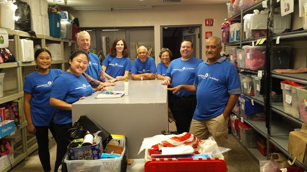 National Day of Service Event 2016