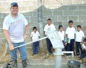 Completed Well in Honduras