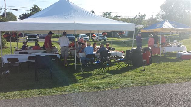 Local highschool tailgate-1st game