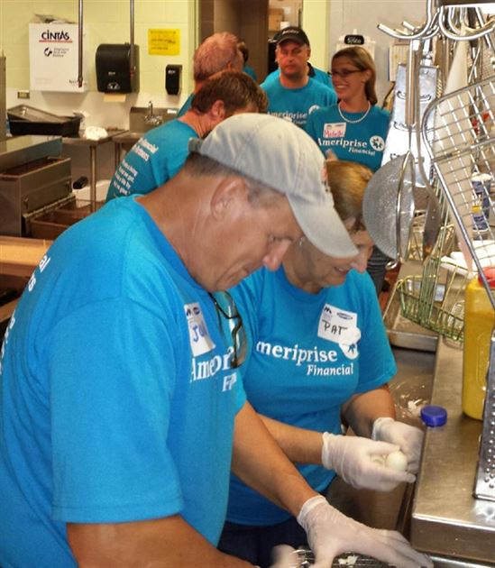 Volunteering-National Service Day