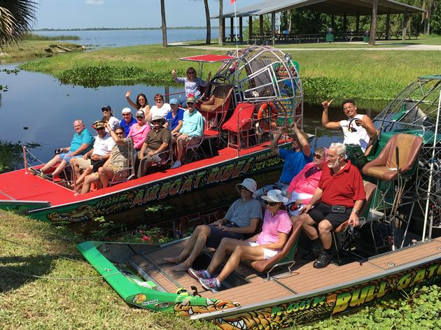 2016 Airboat Ride|Brevard Zoo Event