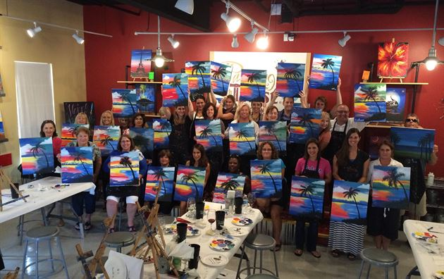 Painting With a Twist Event 2016
