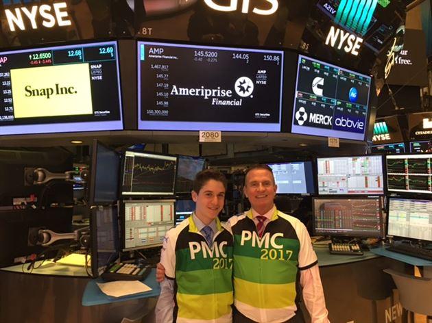 Ringing NYSE Closing Bell 8/2/17