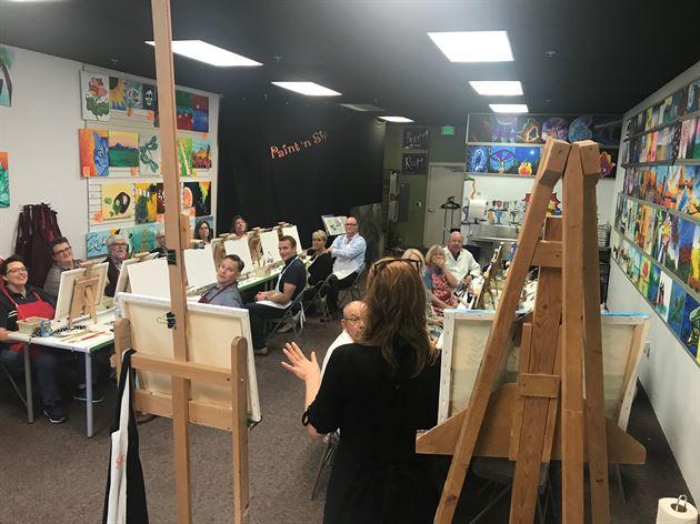 Paint 'n Sip Event - Boise 2018
