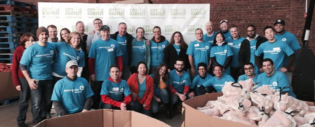 Day of Service at City Harvest