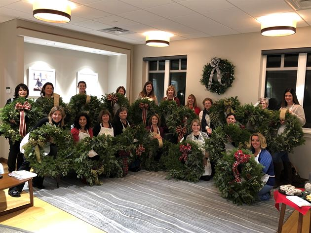 Alice's Table Wreath Making