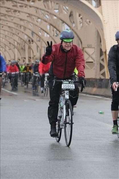 NYC Five Boro Bike Ride 5/1/16