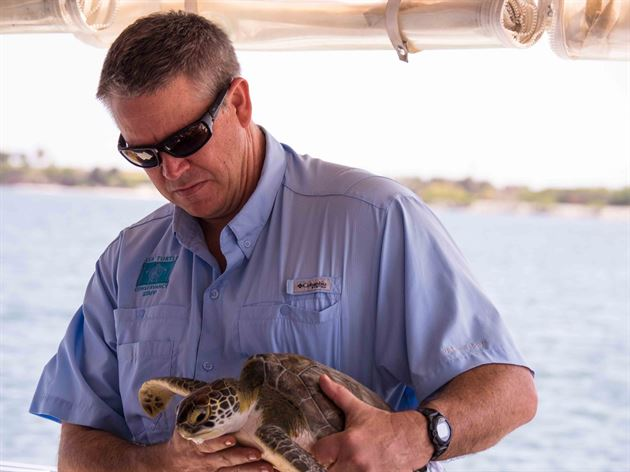 Sea Turtle Catch and Release Event