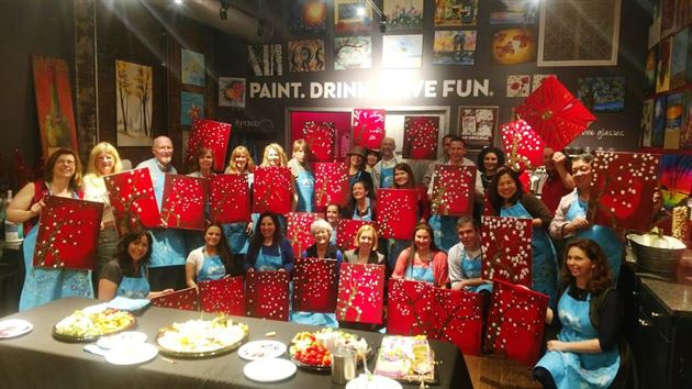 Pinot's Palette Paint & Sip Event