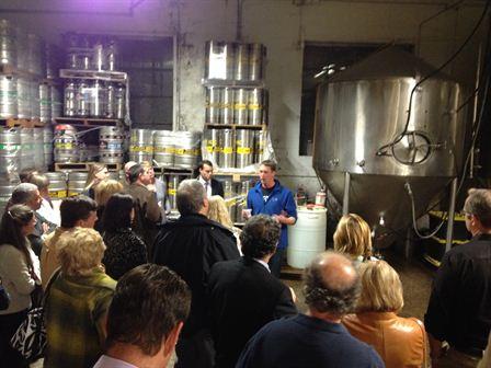 Hooker Brewery Client Event