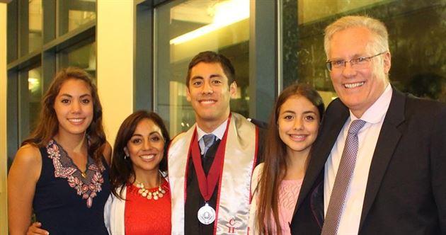Christian & Amy's Graduation