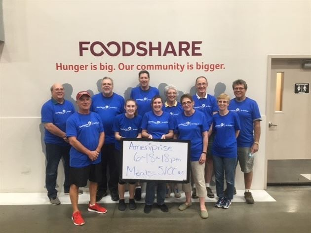 Foodshare Day of Service  June 2018