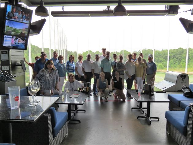 Lew's Topgolf Event, June 6, 2019
