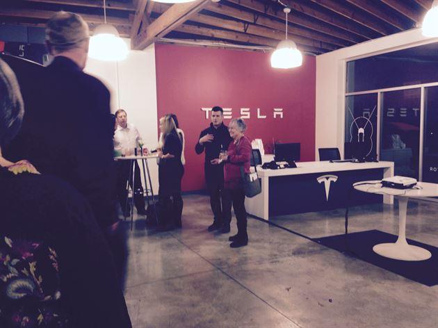 Tesla Dealer Client Event