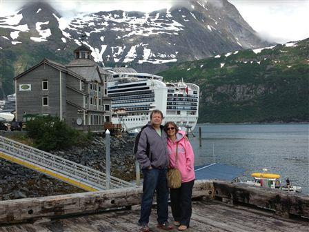 Mark and Gina Kantor visit Alaska