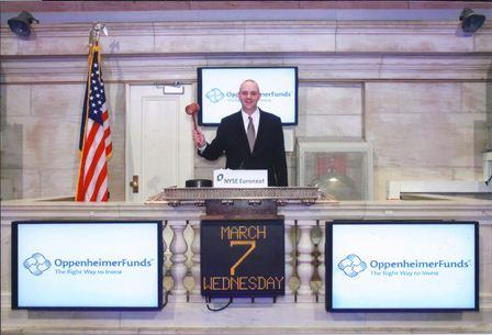 Matt visiting the NYSE