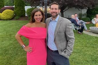 Melissa attending the Kyle Van Noy Valor Foundation charitable event on June 3rd, 2021.