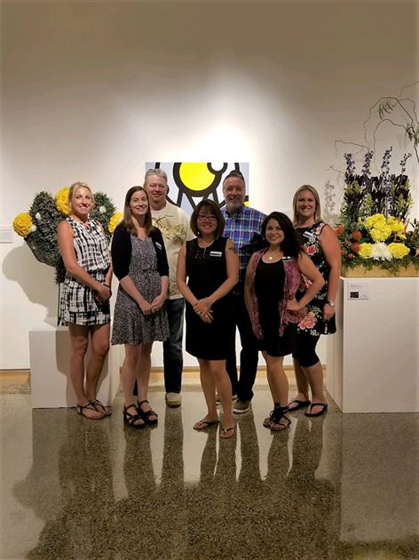 Art in Bloom- Gallery Walk 2018