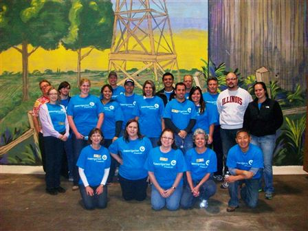 Service: North Texas Food Bank 2012