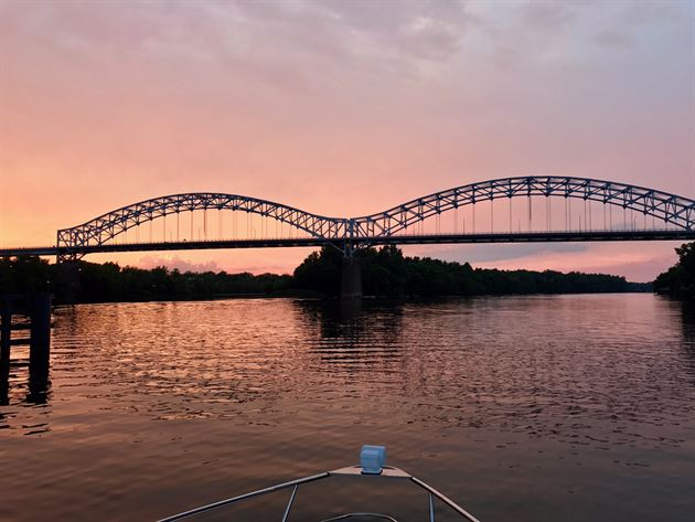 Our Night on the Connecticut River