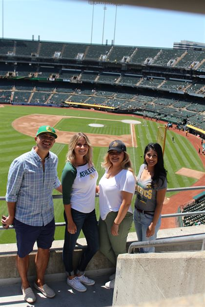 Oakland A's Suite Experience