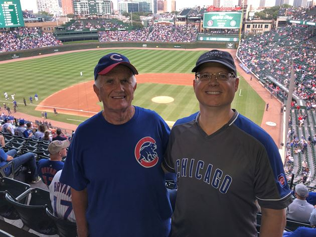 Wrigley Field-Cubs Game