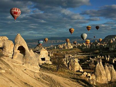 Fairy Chimney in Central Anatolia