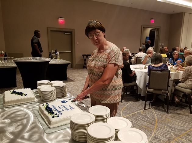 Diana's Retirement Party
