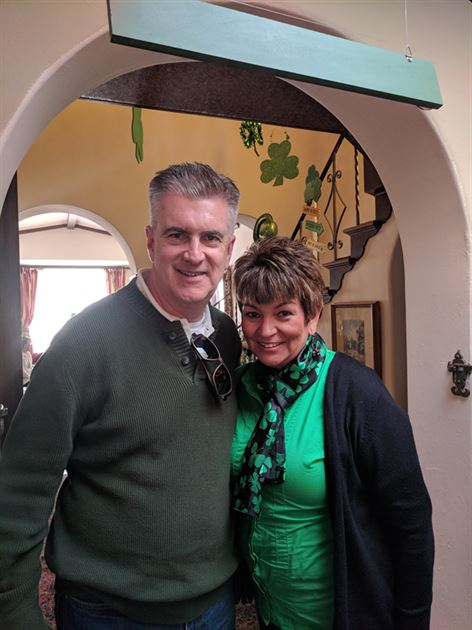 Client St. Patrick's Day Party