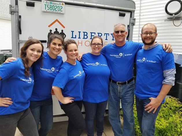 Volunteering at Liberty House