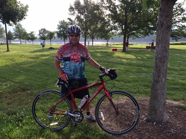 Katy Trail Bike Trip - Summer 2014