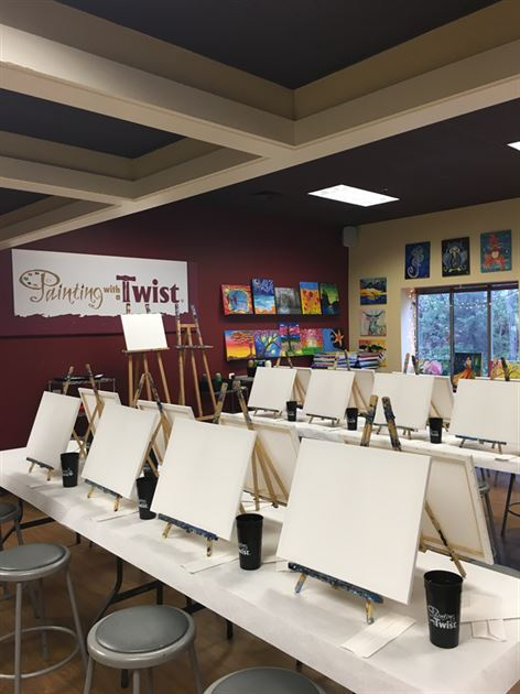 Women and Investing Paint Events