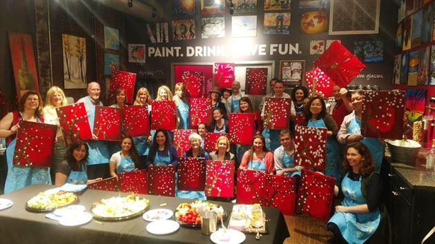 Pinot's Palette Paint & Sip Event