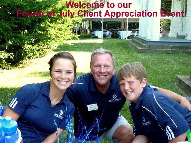 Client Appreciation Events