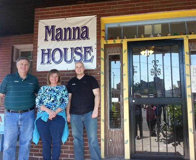 Manna House Volunteer Work