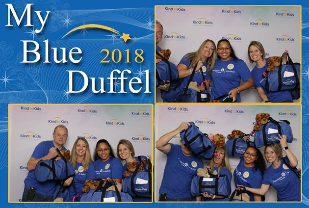 My Blue Duffel Event!