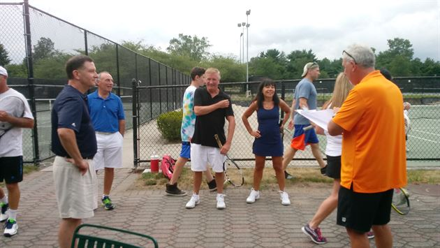 Tennis Clinic at  The Hamlet