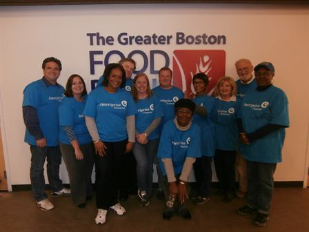 Greater Boston Food Drive 2013