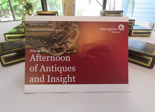 Afternoon of Antiquities & Insight