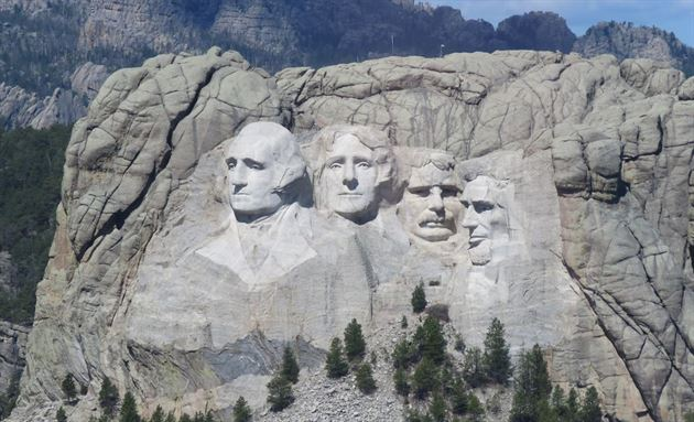 Mt. Rushmore or bust!