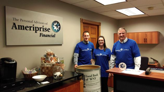 Ameriprise Day of Caring Food Drive
