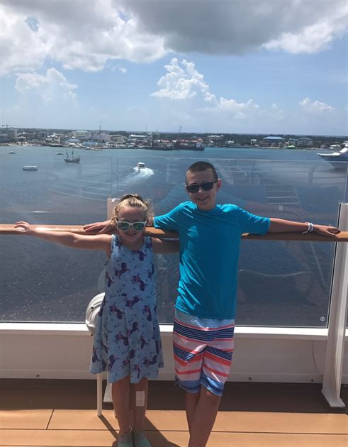 DCL Vacation with Jace & Ella