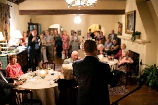 Year-end Reception at Casa Feliz