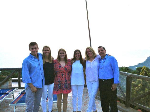 Family Vacation in Capri