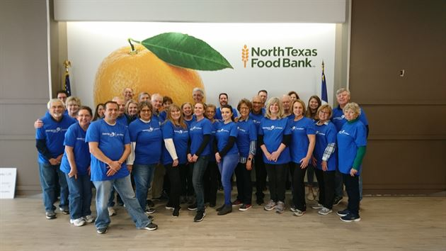 North Texas Food Bank Service Day