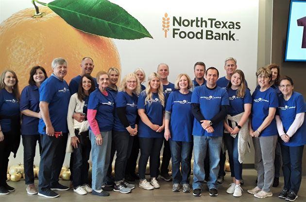 North Texas Food Bank Service Day