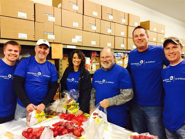 Volunteering for CAER Food Shelf