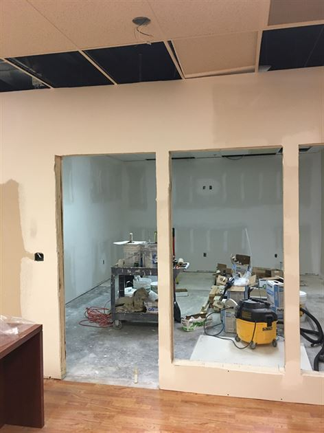 Office Renovations!